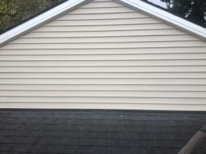 Pressure Washing Siding After